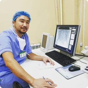 Бесбатыров Аскар Масатович врач интервенционный кардиолог Мангистауская областная больница Актау
