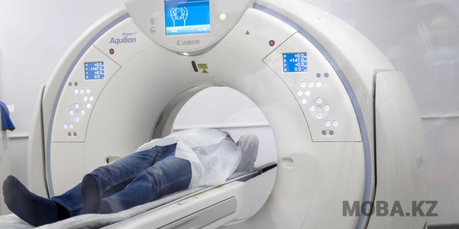 Новый томограф установлен в Мангистауской областной многопрофильной больнице