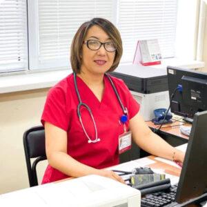 Узакбаева Балихан Жубановна врач нефролог в Мангистауская областная многопрофильная больница г. Актау