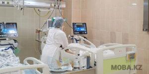 Палата реанимации Мангистауской областной многопрофильной больницы